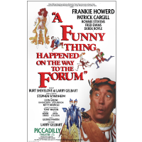 A Funny Thing Happened On The Way To The Forum Repro Poster